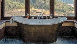 Travel in Style in Bhutan, Reise mit luxuriösen Unterkünften