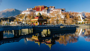 Herbstreise in Tibet, Trekking Tsurphu - Nam Tso