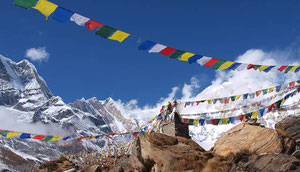 Trekking von Laya zum Masang Gang Basislager in Bhutan
