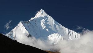 Trekking zum Jomolhari, heiliger Berg in Bhutan