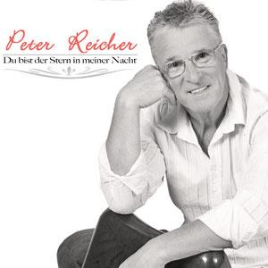 """CD-Cover """"Du bist der Stern in meiner Nacht""""-Dieses  besondere Lied hat Peter seiner geliebten Ingrid gewidmet!"""