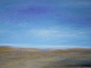 Lonesome Prairie, Oil on Canvas, Jana Paul