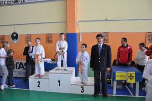 Pianelli Bruno 1° classificato medaglia d'oro Categoria Katà