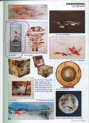 Couleurs Bois N° 51 Nov/Déc 2010 Journées Internationales de la Marqueterie