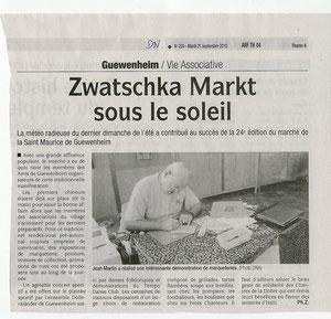 Dernières Nouvelles 21 septembre 2010