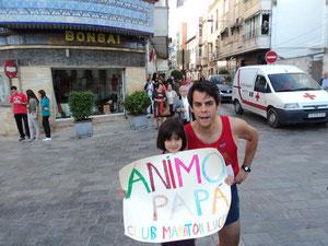 Carlos Nicot, con su hija Claudia. PINCHA  MÁS FOTOS.