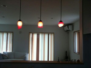 キッチンカウンター ペンダントライト