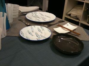 une table inspirée Japon avec Evelynn