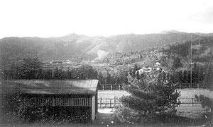 昭和9年頃 柊野厩舎