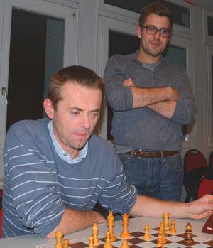 Stéphane et Jean-François Duboy de passage