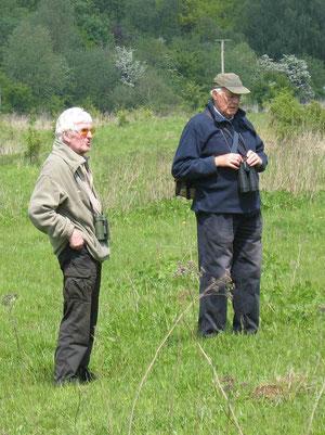 Arnold Nöthgen und Gerhard Erdtmann 2010 (Foto: Wolfgang Voigt)