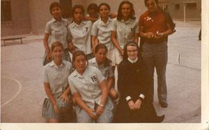 infantil 1973 campeonas de madrid 2ª cat.