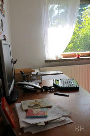 Rita Henke Schreibtisch