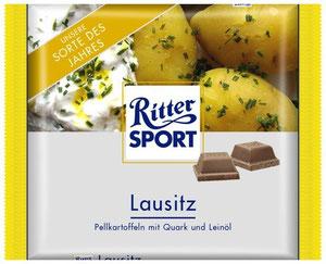 Ritter Sport Fake Schokolade Lausitz
