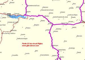Balade moto Oloron-Espagne