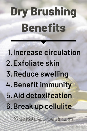 Six Health Benefits of Dry Brushing on the Beachside Blog