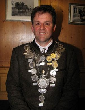 Schützenkönig Peter Leibhard