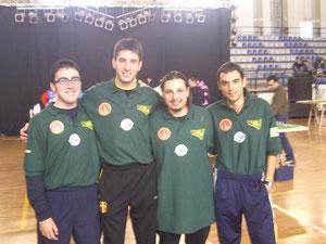 Di Bella - Giliberto - Cannavò - Filiciotto al torneo di Catania