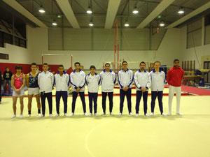 Gymnastes du 1er Tour des Coupes Fédérales