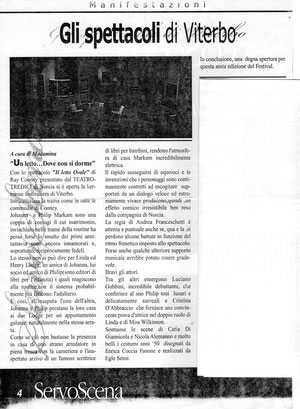commento giuria FITA Viterbo 2001