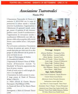 Finalisti a Viterbo FITA 2001