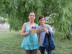 Valérie et Maxime, vainqueurs des tournois