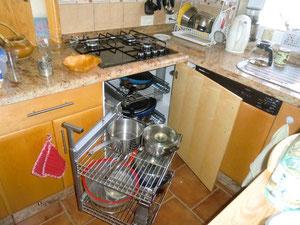 Magic Corner für Küchen, Der fliegende Tischler, Teneriffa