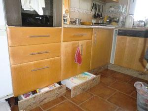 Küche, Der fliegende Tischler, Teneriffa