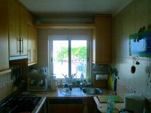Spotleiste in einer Küche, Der fliegende Tischler, Teneriffa