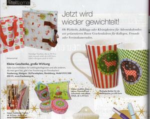 Werbung November 2011 in der RENDSBURGerLEBEN