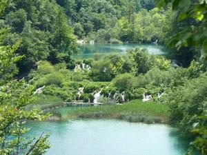 der Silbersee (See Kaluderovac)