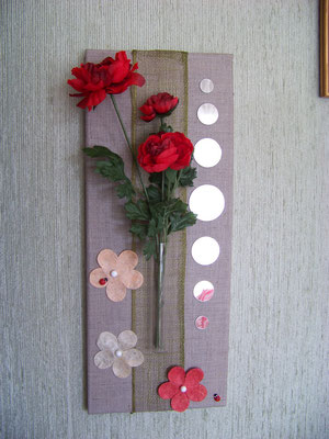 Tableau porte fleur