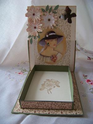 Carte boîte pour post-it