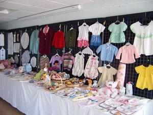 Layette et objets pour bébé