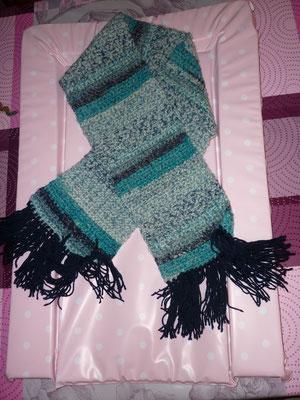 Echarpe au crochet