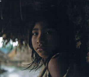 Ein Kogui-Mädchen aus Domingueka: Die Kinder besuchen inzwischen die Schule