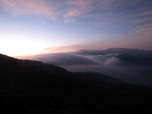 Die Sierra bei Sonnenaufgang