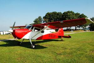 Cessna 170 - D-ELUV zu Gast in Wershofen