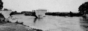 pont d'annet détruit en 1914