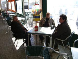 gemeinsamer Lunch bei Paco im La Bahia