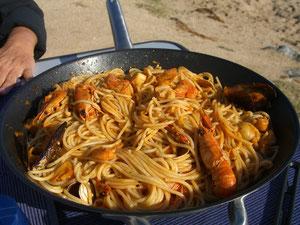 Spaghetti a la Marinera, selbst gekocht versteht sich