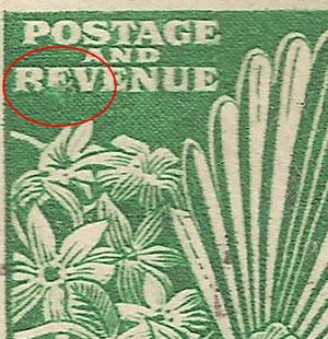 R 4/8 'RFVENUE' flaw