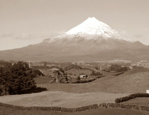 'Mt.Taranaki, New Zealand'