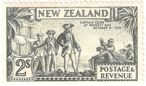 2/- 'Captain Cook'.
