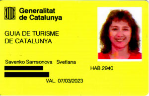 russian-speaking guide in Barcelona, russian guide-interpreter in Catalonia