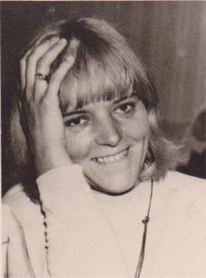 1968 die frisch gebackene Diplompsychologin
