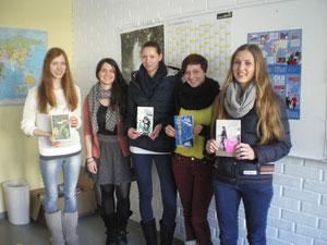 Jury du Land de Salzbourg le 4 mars 2013 avec Bénédicte Voisine de l'Institut français d'Autriche