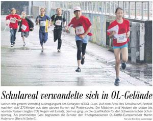 Zeitungsbericht, Marchanzeiger, S.1, 24.5.12