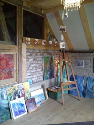 Herzlich Willkommen! Hier kann  meine Malerei auch käuflich erworben werden.