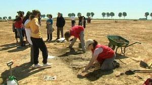 © France 3 Picardie Des fouilles archéologiques en Picardie